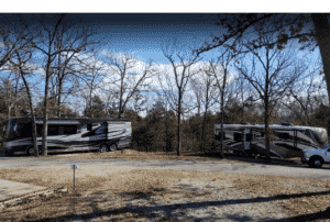 Luxury RV campsites in Missouri