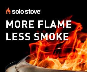Solo Stove - More flame less smoke