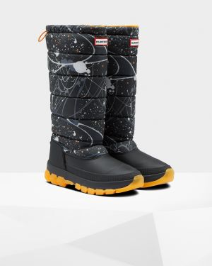HUNTER Original Insulated Snow Boot Tall side view