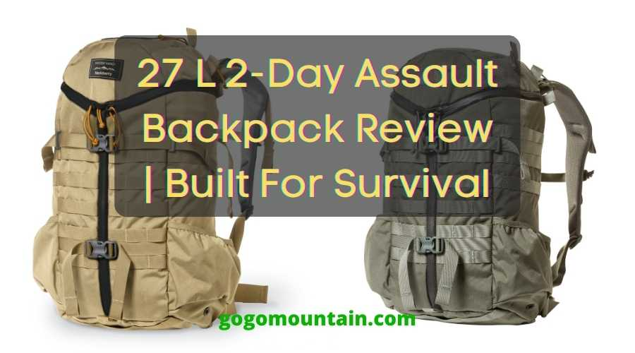 27 L 2-Day Assault Backpack Review Built For Survival