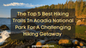 Hiking Trails in Acadia National Park