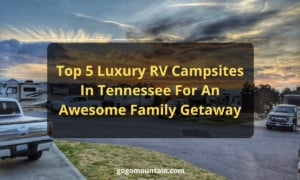 Luxury RV Campsite in Tennessee