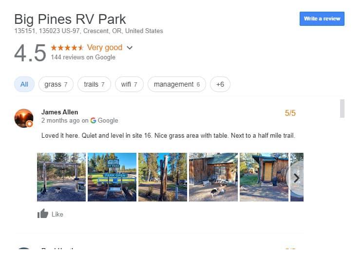 Luxury RV Campsites in Oregon