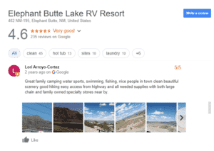 Luxury RV Campsites In New Mexico
