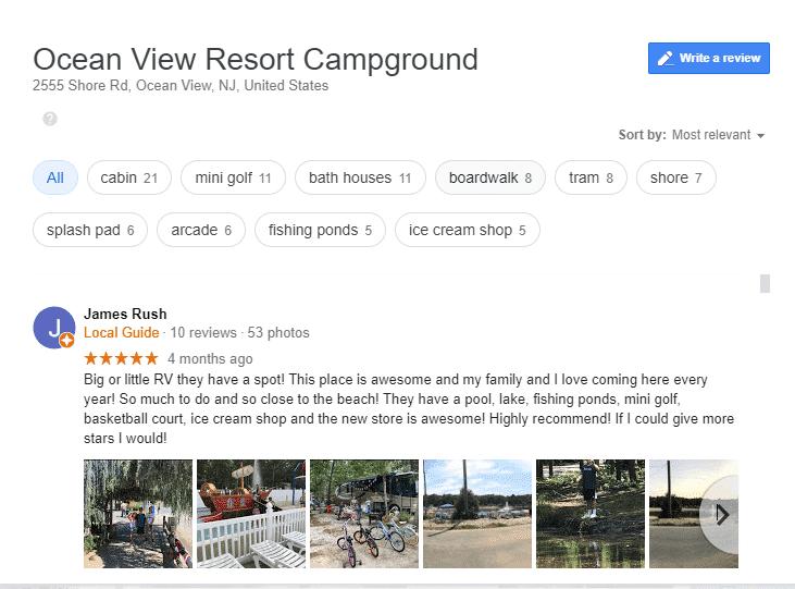 Luxury RV Campsites In New Jersey