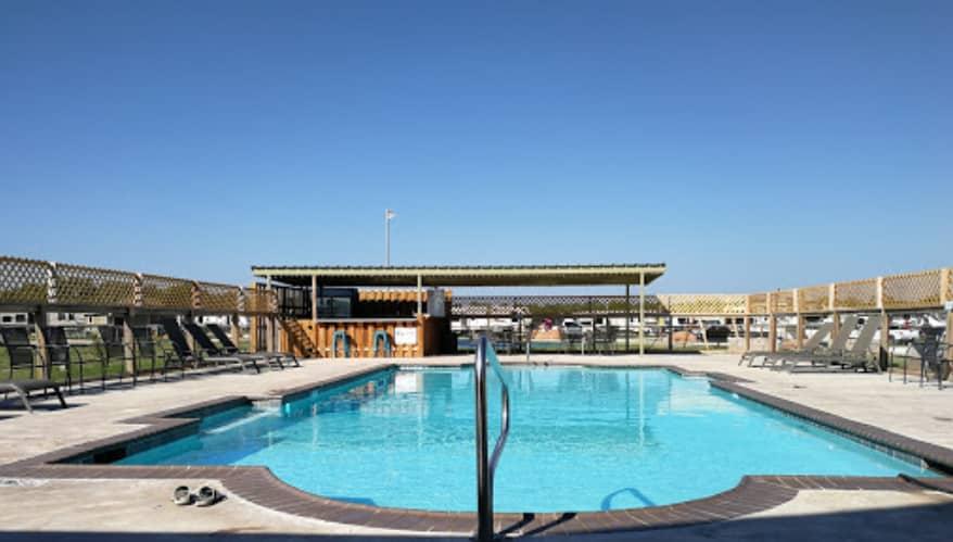 Luxury RV Campsite in Texas