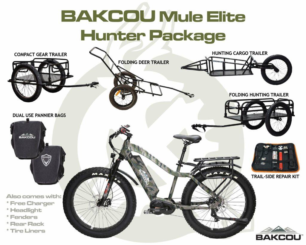 BAKCOU Mule Elite Electric Hunting Bike Review 1