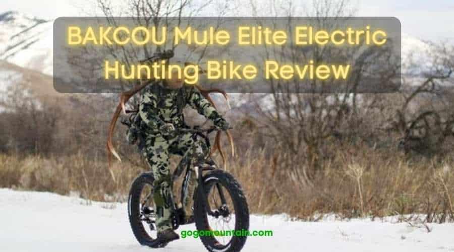 BAKCOU Mule Elite Electric Hunting Bike Review