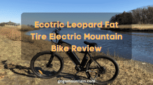 Ecotric Leopard Fat Tire Electric Mountain Bike Review