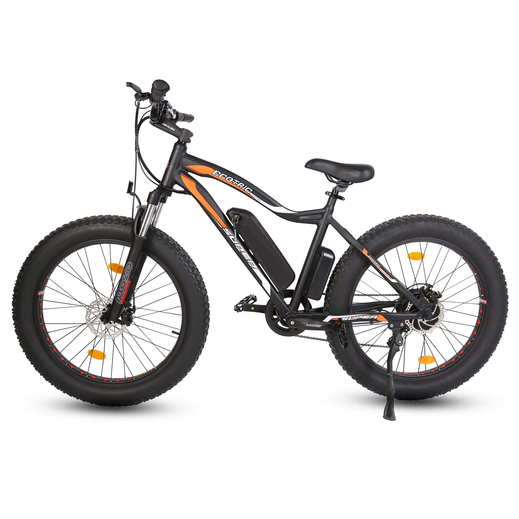 Ecotric Rocket Fat Tire Electric Mountain Bike Review