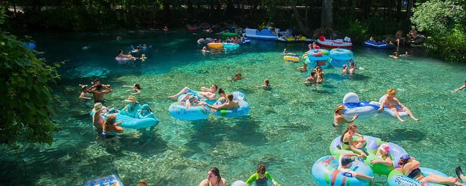 Ginnie Springs Florida Camping Site