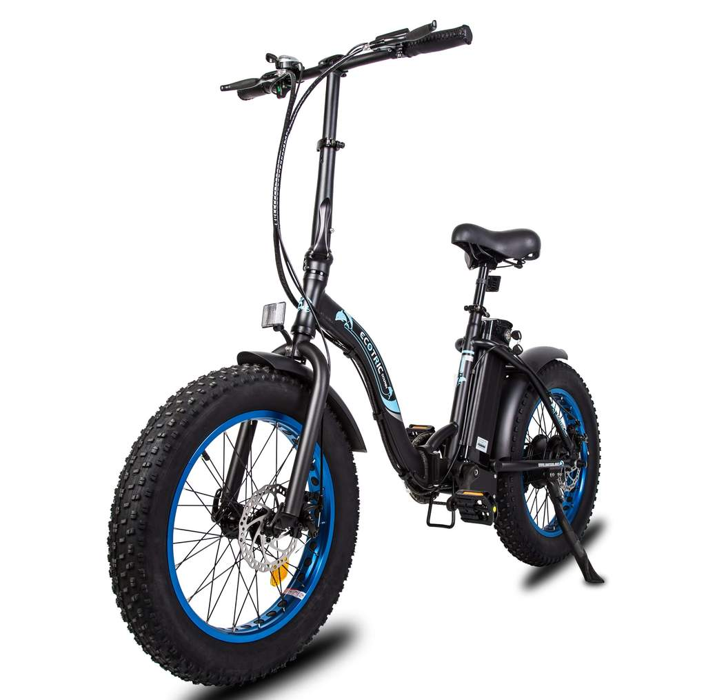 Ecotric Dolphin Fat Tire Electric Mountain Bike Review 2021