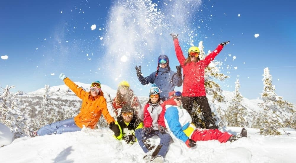 Small gifts for skiers