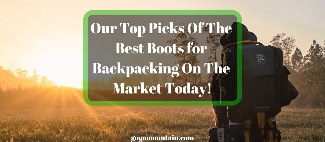Our Top Picks Of The Best Boots for Backpacking On The Market Today!